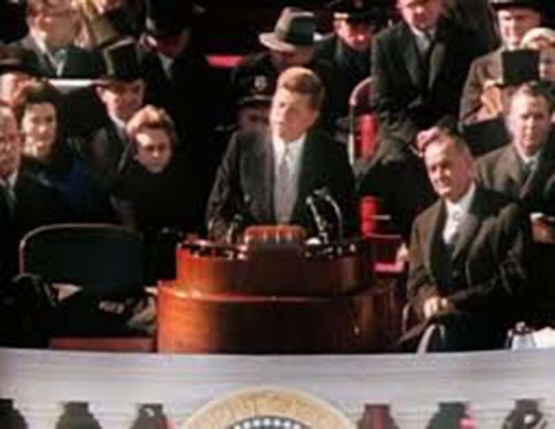 president kennedy s inaugural address Get an answer for 'what was president kennedy trying to say in his inaugural speech is the speech an accurate and relevant request to action do you think/feel this speech is meaningful to today's society.