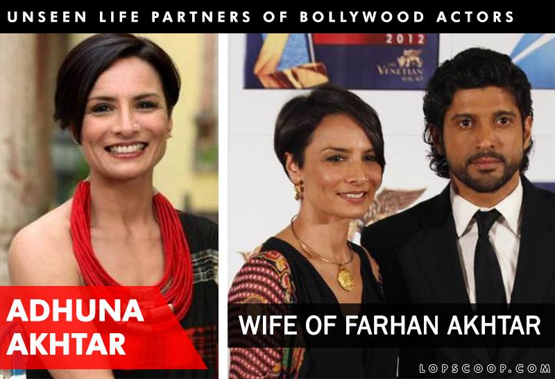 Unseen real life partners of bollywood actors for Adhuna akhtar salon